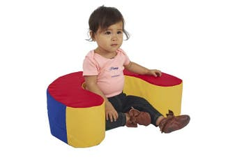 SoftScape Sit and Support Ring Baby Floor Seat, Primary