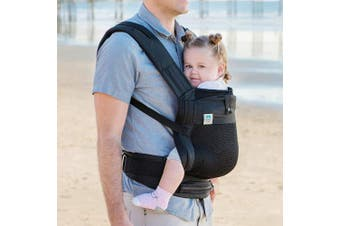(Black Baby Carrier) - Blooming Airpod Baby Carrier (Black Baby Carrier)