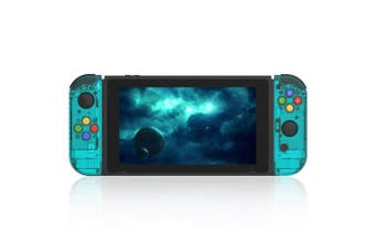 (Joycon-ice Blue) - BASSTOP [Update Version] NS Joycon Handheld Controller Housing DIY Replacement Shell Case for Nintendo Switch Joy-Con (L/R) Without Electronics (Joycon-ice Blue)