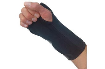(Fits Most) - Carpal Tunnel Wrist Brace Night Support - New Padded Palm Design. Breathable Wrist Splint Stabiliser Hand Brace for Carpal Tunnel Syndrome Pain Relief Inner Compression Sleeve for Wrist Tendonitis