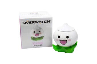 Surreal Entertainment Exclusive Overwatch Pachimari Stash Jar | Small Stash Container with Lid | Store Valuables, Herbs, Spices, & More | 13cm Tall