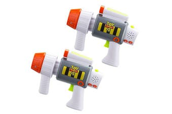 Toy Story 4 Laser-Tag for Kids Infared Lazer-Tag Blasters Lights Up & Vibrates When Hit