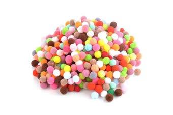 Beautyflier1000 Pcs Wool Felt Balls Handmade 1cm 1.5cm Pom Poms for DIY Craft Making Decoration Mixed Colours