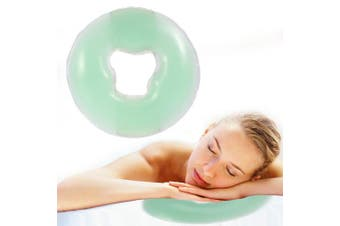 (Green) - Beauty SPA Massage Pillow, Soft Massage Face Relax Pillow Headrest, SPA Beauty Salon Skin Care Relax Head Cradle Cushion (4 Colour Options!)(Green)
