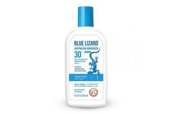 (260ml) - Blue Lizard Sensitive Mineral Sunscreen – No Chemical Actives – SPF 30+ UVA/UVB Protection, 260ml