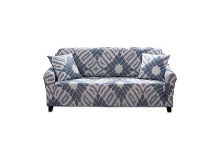 (Dark Gray, 3 Seater) - Fashion·LIFE Sofa Slipcover 3 seater Sofa Covers Floral Printed Cover Elastic Anti-Slip Elastic Slipcover Furniture Protector for livingroom,Dark grey