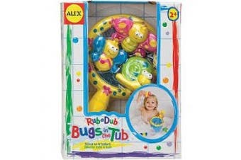 (1, classic) - Alex Rub A Dub Bugs In The Tub Bath Toy