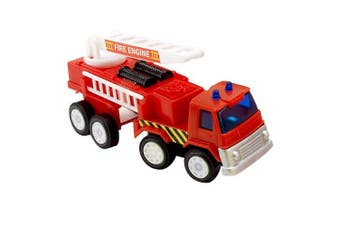 Buyseason 191558 2.1m Long Fire Engine Trucks (8)