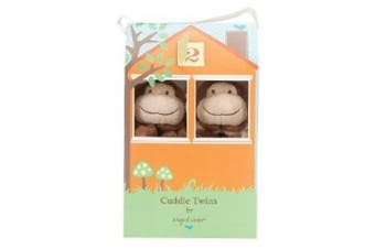 (Brown Monkey) - Angel Dear Cuddle Twin Set