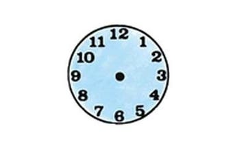 Small Clock Rubber Stamper: Time Teaching Aid