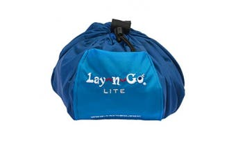 (Blue) - Lay-n-Go Original Activity Mat, Blue