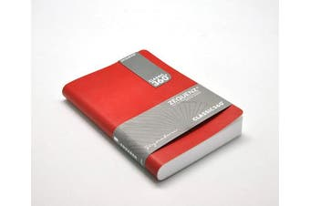 (red) - Zequenz Classic 360 soft bound Journal Writing Notebook Medium Red 13cm x 18cm 140 sheets / 280 pages Blank thick paper