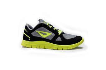 (Size 7.5, Black/Volt Yellow) - 3N2 Velo Runner