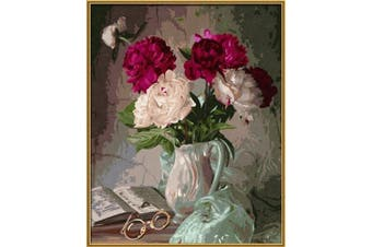 Noris 609130558 Painting by Numbers - Still Life with Peonies