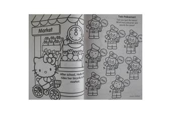 Hello Kitty Colouring and Activity Book with 30 Stickers 144 Pages