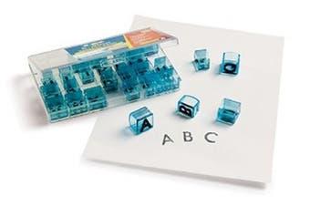 Educational Insights Alphabet Transparent Stamps- Uppercase 1.6cm