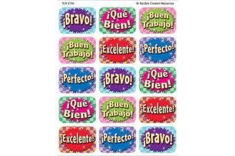 Teacher Created Resources Good Work (Spanish) Jumbo Stickers, Multi Colour (5734)