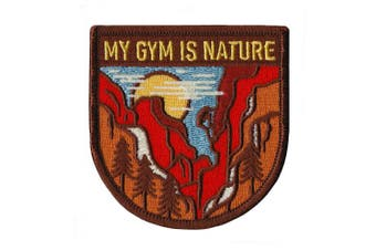 (My Gym is Nature) - Asilda Store Embroidered Sew or Iron-on Patch (My Gym is Nature)