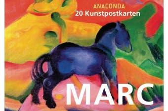 Kunstpostkartenbuch Franz Marc [German]
