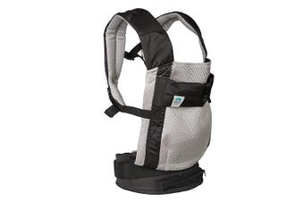 (Gray Baby Carrier) - Blooming Airpod Baby Carrier (Grey Baby Carrier)