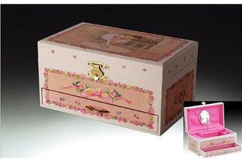 Childrens Musical Jewellery Music Box Ballerina Drawer PK