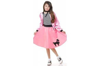 (X-Large) - Poodle Dress Childrens Costume