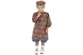 (West African) - Multi-Ethnic Ceremonial Costume - African American Boy