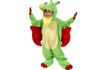 Toddler Plush Dragon Costume (Size:4T)