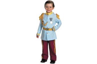 (4-6, Blue) - Disney Prince Charming Child Costume