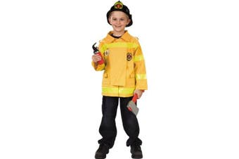 Childs Firefighter Costume (Size:Youth Small 5-7)