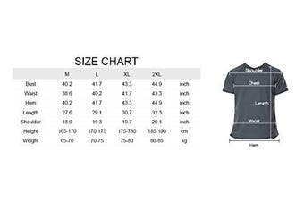 (Large, Basic Grey) - Charmo Mens Sun Protection Swim Shirts Rash Guard Swim Tee Short Sleeve Swimwear