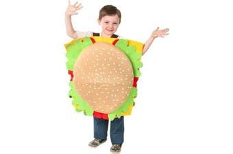Child's Hamburger Halloween Costume (Medium 7-10)