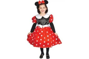 Girl's Minnie Mouse Deluxe Toddler Costume