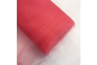 (140cm  x 40 yards, Coral) - Craft and Party, Inc. 140cm Tulle (Bolt 40 Yard) Fabric Coral