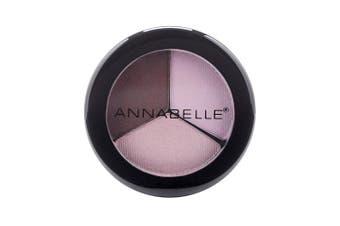 (Rosewood) - Annabelle Trio Eyeshadow, Rosewood, 5ml