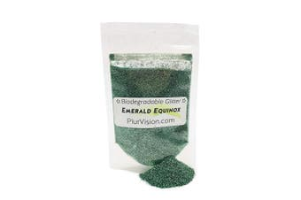 (30ml, Emerald Equinox) - Biodegradable Body Glitter (30ml, Emerald Equinox)