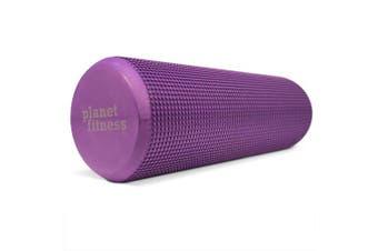 (18-Purple) - Planet Fitness Muscle Massager Foam Roller for Deep Tissue Massage