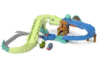 Thomas & Friends FJP86 Dynamite Dino Set, Thomas the Tank Engine Toy Train Set, Adventures Toy Train, 3 Year Old