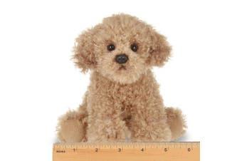 Bearington Lil' Doodles Small Plush Labradoodle Stuffed Animal Puppy Dog, 17cm