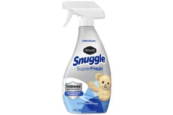Renuzit Snuggle Fabric Refresher with Odour Eliminating Technology, Linen Escape, 530mls