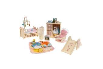 (Calico Critters Deluxe Baby's Nursery Set) - Calico Critters Baby's Nursery Set