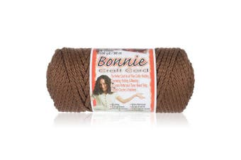 (Almond) - Craft County Bonnie Macramé Cord - 4mm - 100 yd Lengths - Various Colours