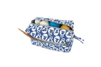 (Large(up to 25cm ), Sheep) - Luxja Yarn Storage Bag, Carrying Knitting Bag for Yarn Skeins, Crochet Hooks, Knitting Needles (up to 25cm ) and Other Small Accessories (Large, Sheep)