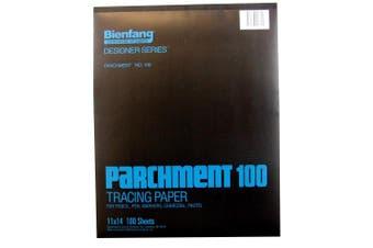 (28cm  by 36cm ) - Bienfang 240230 28cm by 36cm Pad of Parchment Paper, 100 Sheets