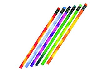 (Assorted) - Colour Changing Mood Pencil with Eraser, Set of 24, Assorted Colours