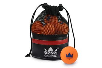 (Orange) - Craftsman Golf Golf Balls One Dozen