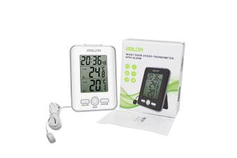 (White) - BALDR Digital Thermometer Wired, White