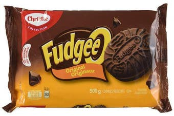 Christie Fudgee O Original Cookies 500g {Imported From Canada}