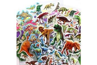 Dinosaur Stickers 3D Puffy Stickers(200+ pcs) Jurassic Dinosaur Tyrannosaurus Rex Stickers 14 Sheets Kids,Craft Scrapbooking for Decorative Sticker Decoration for Calendars, Arts Stickers