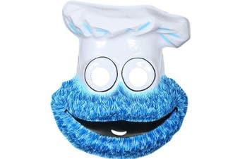 Child's Sesame Street Cookie Monster PVC Mask